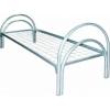 Металлические кровати двухъярусные для строителей, кровати для санатория, пансионата, кровати с деревянными спинками