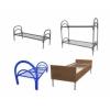 Кровати металлические от производителя для больницы, кровати для пансионата, кровати армейские, кровати для рабочих