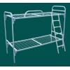 Одноярусные металлические кровати для интернатов, кровати для санаториев, кровати оптом, кровати дешево