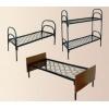 Кровати металлические для больницы, кровати для пансионата, кровати армейские одноярусные.