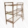Трехъярусные металлические кровати. Железные армейские кровати. Кровати для строителей, кровати для подсобок, кровати оптом