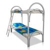 Металлические двухъярусные кровати для общежитий, кровати для санаториев, кровати дешево.